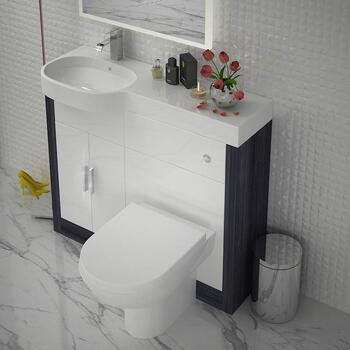 Hacienda 1000 Combination Vanity Unit (Colour Options) LH - 174651