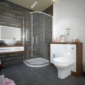 GEO 2 LUCIDO QUADRANT SHOWER SUITE Brilliant Quality Modern