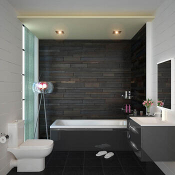 SONIX Grey 890 BATH SUITE - 174745