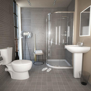 KARIZMA QUADRANT SHOWER SUITE - 174993