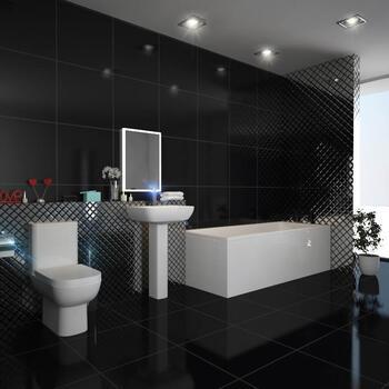 LAGUNA SQUARE DESIGN BATHROOM SUITE - 175362