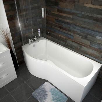 Patello B / P Shaped Shower Bath Left Handed 1700 - 175366