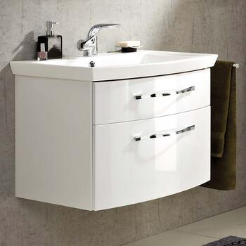 6001 Solitaire Bathroom Vanity Unit 2 Drawers - 175383