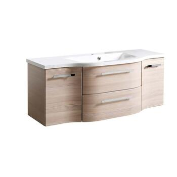 luxury quality  Contea Wall Hung Vanity Unit 2 Doors 2 Drawers