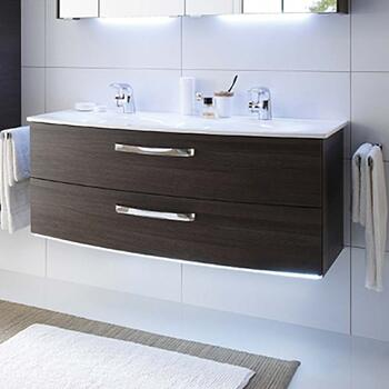 double vanity units for bathrooms. Solitaire 7025 1200 Double Vanity Unit 2 Drawer Bathroom Sink cabinets and wall hung vanity units at