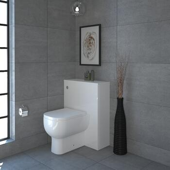 MERCURY 60  Back To Wall Toilet UNIT AND CISTERN High Quality