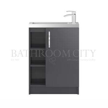 Apollo Free Standing 600mm Compact Basin Unit and Basin - 177319