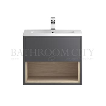 unique design Coast Wall hung 600 Cabinet with storage & Basin