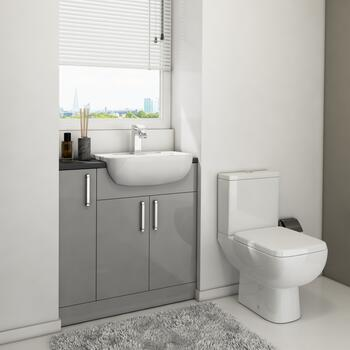 Oliver 800 Fitted Cloakroom Furniture - 179029