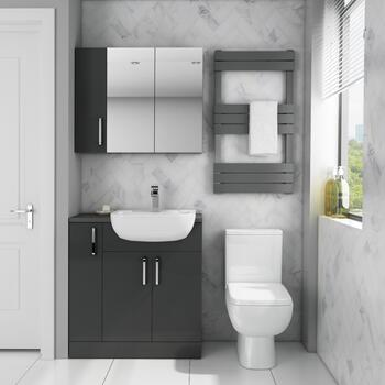 Oliver 900 Fitted Cloakroom Furniture - 179030