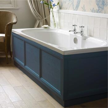 Old England Indigo Bath Panel 1700 - 179238