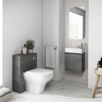 Hacienda 410 Wall Hung Suite with BTW Toilet