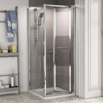 Radiant Reduced Height Shower Door Bifold 800