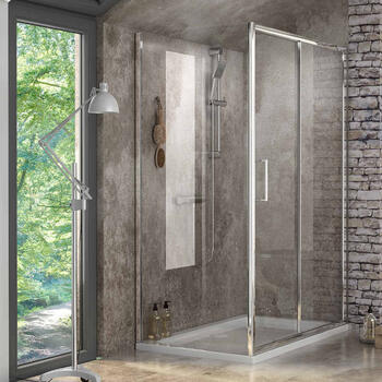 Radiant Reduced Height Shower Door Side Panels