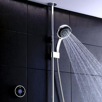 Mira Platinum Digital Shower 1 Outlet Pumped - 179330