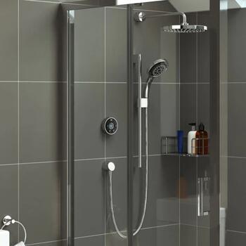 Mira Platinum Digital Shower 2 Outlet High Pressure - 179331