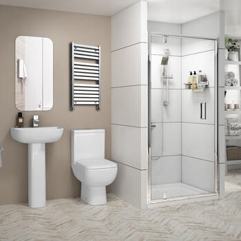 Pivot Shower Suite Radiant Reduced Height