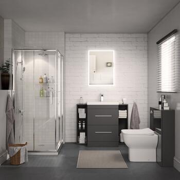 Bathroom Shower Suite Grey
