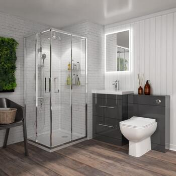 Bathroom Shower Suite for small bathrooms