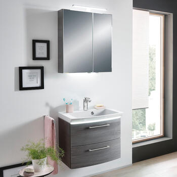 Cassca 600 Vanity Unit with Optional Mirror and Lighting