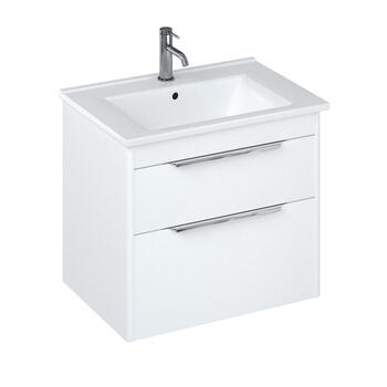 Britton Shoreditch Wall Hung 650mm Vanity Unit White