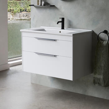 Britton Shoreditch Wall Hung 850mm Vanity Unit Main