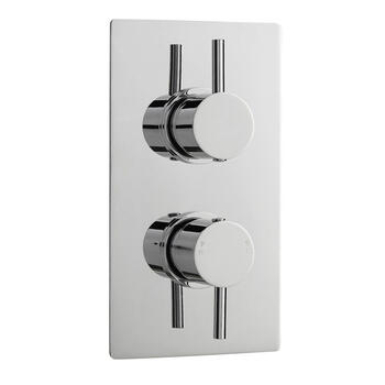 PIONEER TWIN THERMO VALVE ROUND HANDLES - 18147