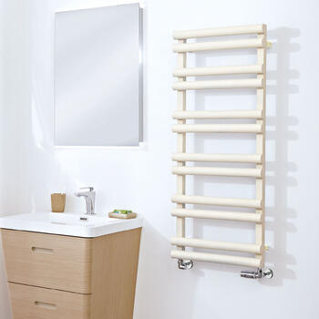 Totu Grey Prefilled High Quality Bathroom Radiator