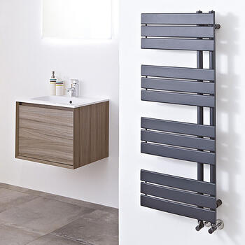 Carla 800 Grey Electric Radiator - 18680
