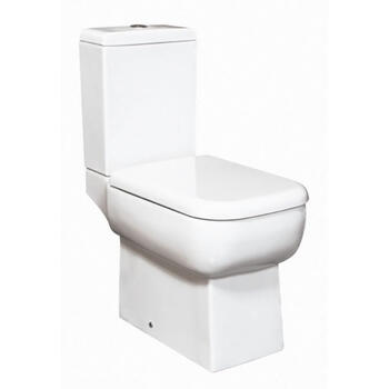 Metropolitan Close Couple Toilet & Soft Close Seat straight High Quality