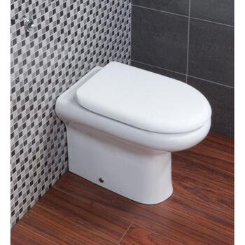 Compact Back To Wall Toilet & Soft Close Seat - 20-339