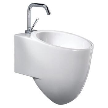 Tixel White Ceramic Basin [l313] - 20-345