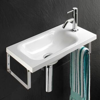 Swirl Washbasin Straight Shape Wall Hung Amazing Value