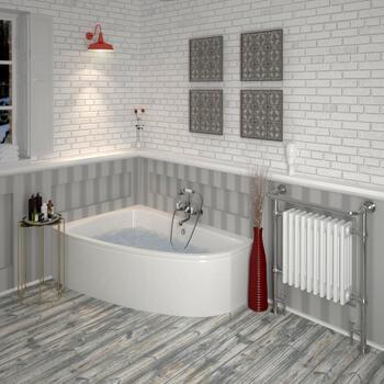 Clia Left Hand Whirlpool Bath & Panel - 23-263