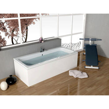 Vernwy 1700x750 Double Ended Rectangle Bath