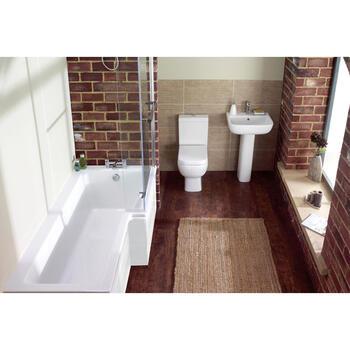 Laguna L Shape Shower Bath Right Handed - 175359