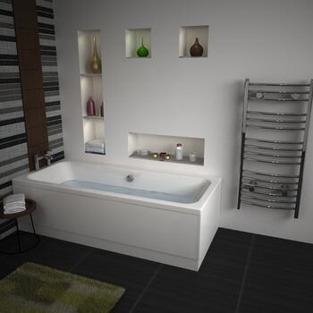 Vernwy 1800x800 Double Ended Bath