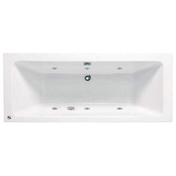 Turin Super Deep 1700 x 800 6 jets Whirlpool Bath - 23-290