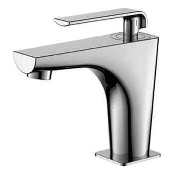 Modern stunning CHROME standard Basin tap With a lever Handle