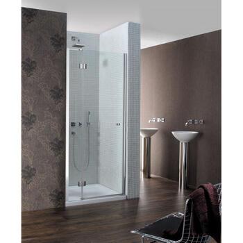 Design Semi-Frameless Hinged Shower  Door Designer Bathroom