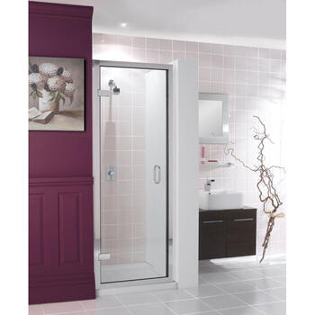 Classic Frame Hinged Shower  Door High Quality Stylish Bathroom Accessory