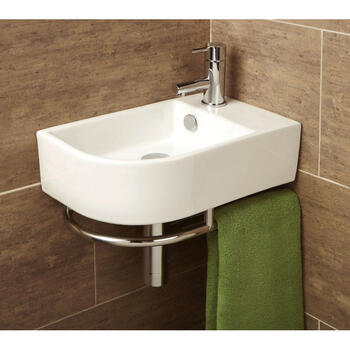Temoli Washbasin Curved Designer and Stylish Bathroom Accessory
