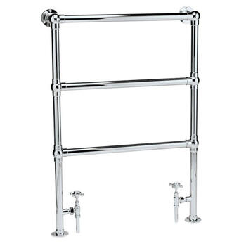 Traditional Countess Heated Bathroom Flat Towel Rail