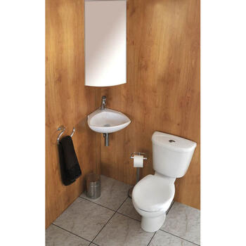 Jazz Corner Cloakroom Suite