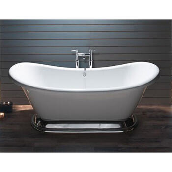 ExCelsior White Acrylic Boat Bath
