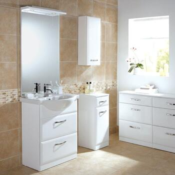 Sorrento Mirror 600mm Rectangle Shape with Top Light