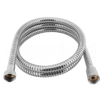 Shower Hose  8mm X 1.5m Chrome Shower Hose multi