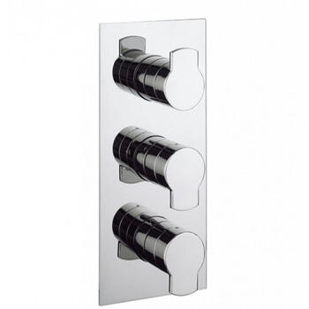 Wisp Wisp 3000 Thermostatic Shower Valve rectangle