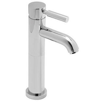 Extended Mono Basin Mixer Single Lever Deck Mounted Smooth Bodied