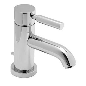 contemporary CHROME standard Basin tap With a lever Handle